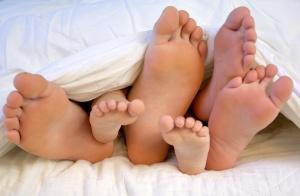 Când dragostea face picioare